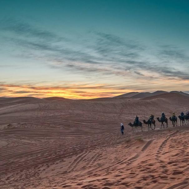 Desierto de Merzouga la mejor excursión de 2 días de Fez a Merzouga