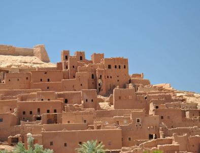Ait Ben Haddou buildings
