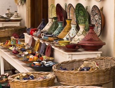Tajine pots in Morocco
