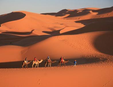 Agadir to Merzouga, 3 days tour to the desert with camel rides