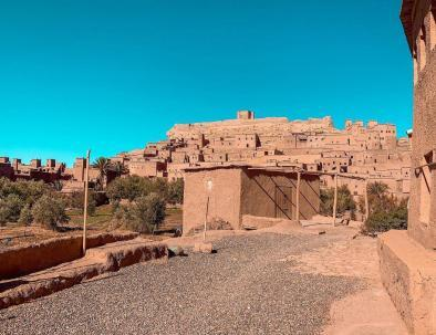 The kasbah of Ait Benhaddou, one of the sites that we will visit during our 2 days Fes to Marrakech desert tour