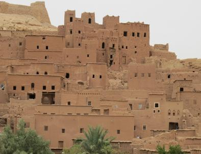 The kasah of ait benhaddou, one of the greatest sites that you will visit with our 7 days desert tour from Fes to Marrakech