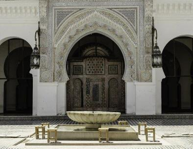 Fes gate with our 7 days fes to Marrakech desert tour